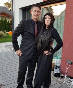 Sabine und Sebastian Geyer aka The Addams